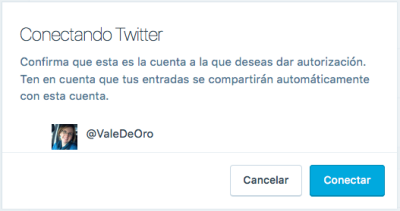 conectar twitter