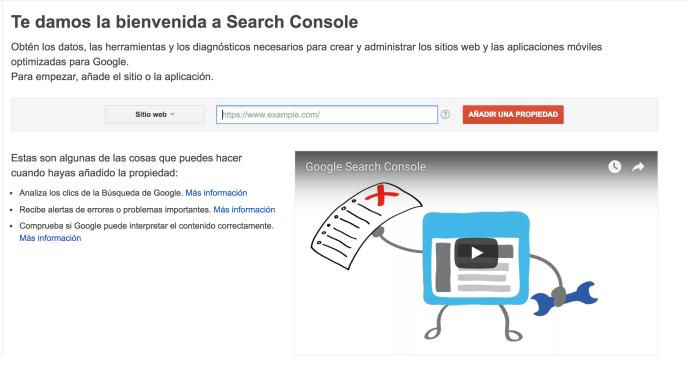 Consola Google