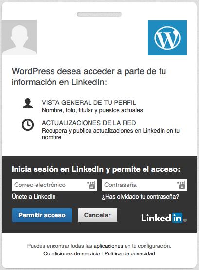 linkedin acceso