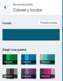 colores y fondos
